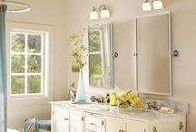 Benjamin Moore's Top Bathroom Paint Colors / by MirrorMate Frames