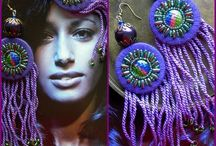 HAND DYED Jewelry (Lace & Fringe)