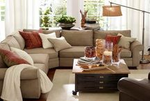 Sectional sofa's for basement / Colour