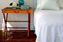 Bedrooms / via houseofturquoise.com