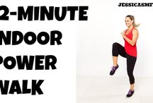 2-Minute Fat Burning Power Walk Home Workout