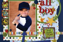 scrapbooking for boys