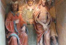 Eremo di S. Vivaldo, Montaione (Firenze) / Eremo di San Vivaldo - Montaione (FI). Terracotte di Benedetto Buglioni (1515 circa)