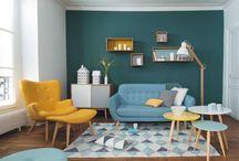 turkis sofa