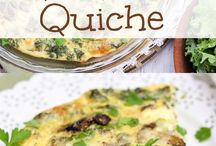 Quiche & Pizza recipies