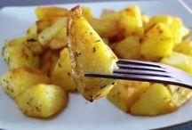 жареная картоха