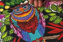 Colouring books: inspirations
