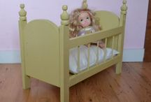 Doll Bed / by Michelle Fuller