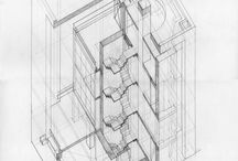 Axonometríc-Isometric- architectural drawings / Axonometríc-Isometric- architectural drawings
