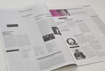 layout / tabloid - magazine