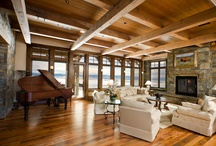 Montana Timber Frame Homes / Custom Timber Frame homes in Bozeman, MT and Big Sky, MT Teton built by Teton Heritrage Builders.  http://tetonheritagebuilders.com/timber-frame-homes/