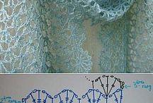 Häkelmode Pullover/Schals/Taschen