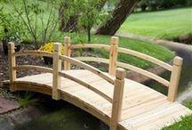 Puentes ,senderos cauces de agua