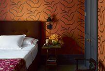 Chic Orange Rooms / Orange Rooms