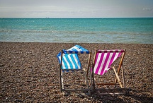 seaside. / oh I do like to be beside the seaside! / by Rebecca H