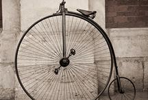 vintage old bycicle
