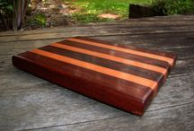 My Cutting/Cheese Boards / This Board is a selection of my wood art that can be found at http://www.australianrescuedtimbers.com/