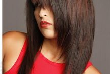 Long haircuts / by Meghan Beck
