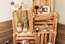 decoraçao casamento rustico
