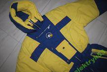 ski suit 80's V. retro suit
