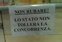Politici riducoli italiani
