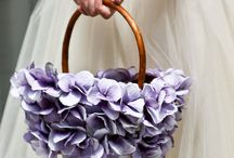 Wedding baskets / Use them for flowers, confetti, favours or just as pretty detail to your event