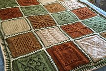 knitted afghans