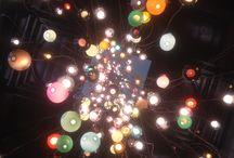 Lights / Beautiful lights V&A atrium