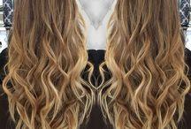 cabelos grandes e  médios