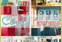 Colorful Kitchens / by The Cottage Market