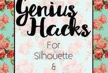 Cricut & Silhouette hacks