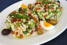 Tunisian food for hubby