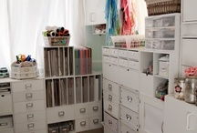 Craft Room Storage Ideas / by Chrissy Burton
