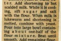 classic recipes