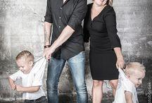 Familie fotoshoot indoor