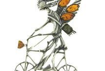 """Bijoux BALTICAMBRE / Bijoux BALTICAMBRE en argent et en ambre dans tous ses aspects """"miel, cognac, vert"""" ! http://www.bijouterie-influences.com/26_Balticambre"""
