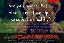 Educate young people on being safe / Inspired by National Child Protection Week