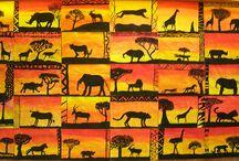 Kuvis eläimet