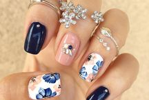 FLOWER NAILS <3