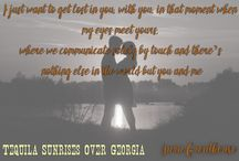 Tequila Sunrises over Georgia / Tequila Sunrises over Georgia is a romance novella by Yara Greathouse currently #FREE on all platforms. It's sequel novel is coming soon.