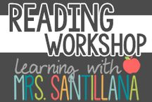 Reading Workshop / Reading Workshop Organization and Centers / by Learning With Mrs. Santillana