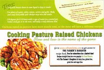 Pastured Poultry Recipes / We've gathered a few of our favourite recipes & tips for cooking pastured poultry raised on Vibrant Farms located in southwestern Ontario near Kitchener-Waterloo in Baden.