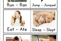 Irregular verbs/ regular verbs