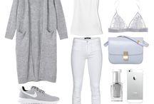 Bright clothes