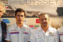 Team HRC Dakar 2015