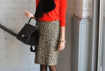 Fall/Winter Outfit Inspiration / New ways to wear the pieces I already own. / by Amanda Morton