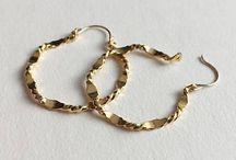 70's Hoops Earrings