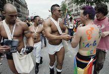 Гей парады гордости в Европе / ЛГБТ Прайд это самое массовое и разнообразное празднование  из всех проходящих мероприятий в  Мадриде в течении года. На протяжении пяти дней улицы столицы наряжаются цветами радуги уступая место культурным мероприятиям и демонстрирации существования ЛГБТ сообщества: концерты, выставки, экспозиции и развлечения и как  кульминация городской марш гордости, результат работы сотни ассоциаций на протяжении целого года, участвующих в продвижении прав сообщест.