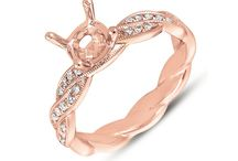 Stunning Rose Gold Engagement