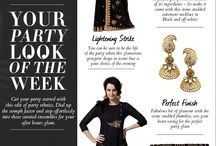 Look of the week / Season's Newest trends for you to flaunt it in style. / by Cbazaar - Delivering Happiness